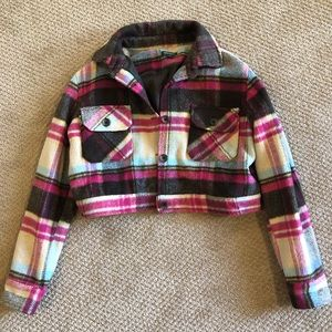 Wild Fable Plaid Jacket